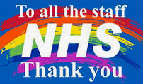Thank you to the NHS for working so incredibly hard to save lives